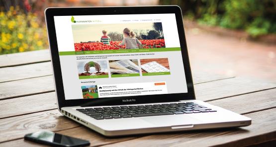 Beispielwebseiten von Kleingartenverbänden und -vereinen auf Gartenbund.de