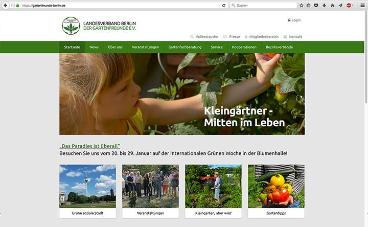 Landesverband Berlin der Gartenfreunde e. V. Webseite besuchen