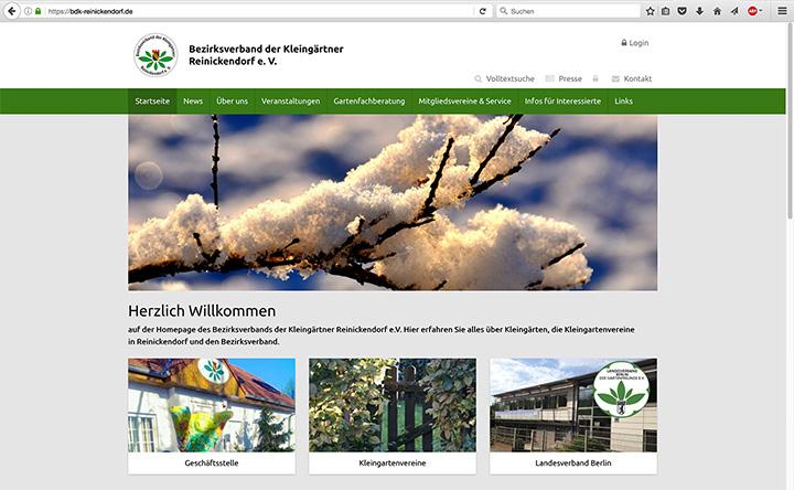 Bezirksverband der Kleingärtner Reinickendorf e.V. Webseite besuchen